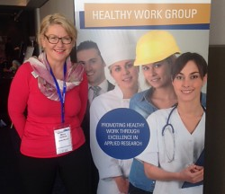 Moira at 2016 International Workplace Bullying Conference