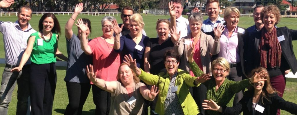 Participants from the Adelaide Train the Trainer Workshop